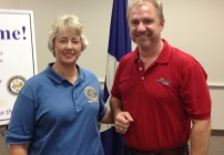 Houston Mayor Annise Parker and Brannon Lloyd, The College Money Guy